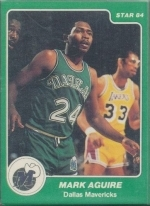 Mark Aguirre UER - Spelled Aguire (Dallas Mavericks)