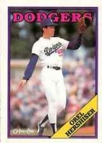 Orel Hershiser (Los Angeles Dodgers)
