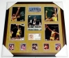 Los Angeles Lakers Framed Hall of Famers-PSA/DNA (Lakers)