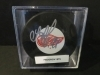 Sergei Fedorov Autographed Puck (Detroit Red Wings)