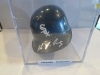 Magglio Ordonez Autographed Mini Helmet (Chicago White Sox )