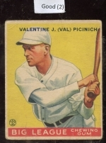 val picinich  (Brooklyn Dodger)