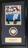 Alex Rodriguez-Autographed Ball in Shadow Box (New York Yankees)
