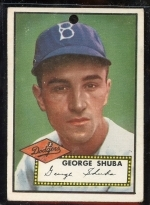 George Shuba (Brooklyn Dodgers)