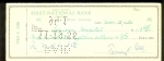 Ty Cobb Signed Check (Detroit Tigers)