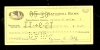 Ty Cobb Signed Check - Salt Lake (Detroit Tigers)