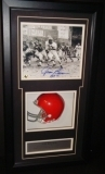 Jim Brown Autographed 8x10 Photo in Shadow Box (Cleveland Browns)