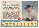 Mickey Mantle - AD Back Life Magazine (New York Yankees)