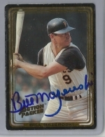 Bill Mazeroski Autographed Card JSA (Pittsburg Pirates)
