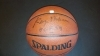 George Mikan - Autographed Basketball - GAI(Los Angeles Lakers)